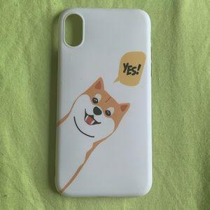 Accessories - iPhone X Shiba Inu Phone Case